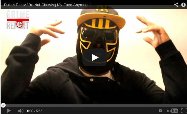 "BRITHOPTV: [Video Interview] Dullah Beatz (@DullahBeatz) ""I'm Not Showing My Face Anymore!"" [@GrimeReportTV] | #Grime"