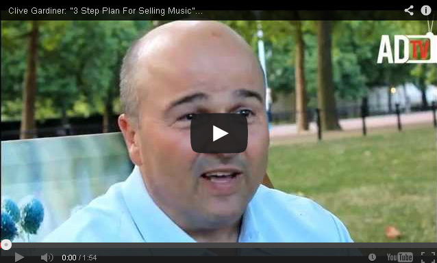 """BRITHOPTV: [Video Interview] Industry Stakeholders: Clive Gardiner """"3 Step Plan For Selling Music"""" [@AmaruDonTV] 