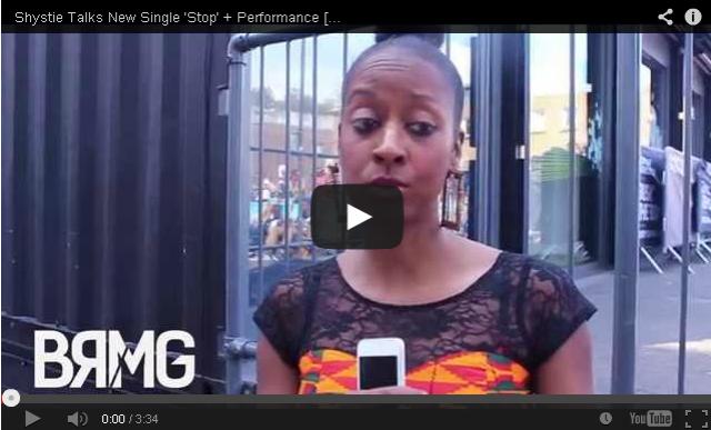 BRITHOPTV: [Video Interview] Shystie (@IamShystie) Talks New Single 'Stop' + Performance   [@BlueReignMG]   #UKRap #UKHipHop
