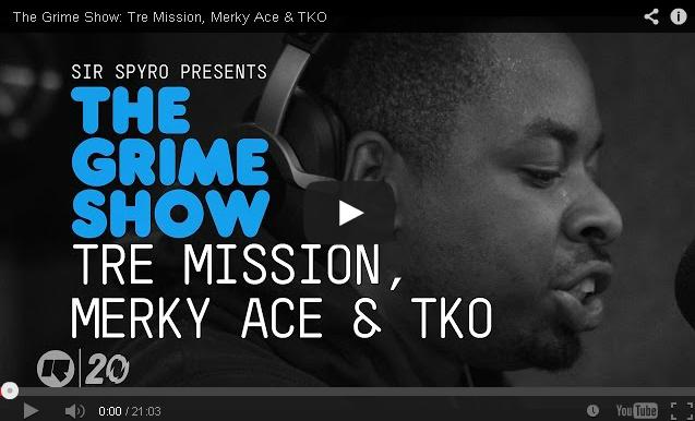 BRITHOPTV: [Video Set] Tre Mission (@TreMission), Merky Ace (@MerkyACE) & TKO (@TKO_FT) on @SirSpyro #GrimeShow [@RinseFM]   #Grime