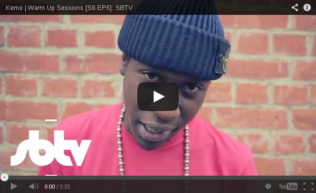 BRITHOPTV: [Freestyle Video] Kemo (@KemoArtist) - ' #WarmUpSessions' [S8.EP5] | #UKRap #UKHipHop