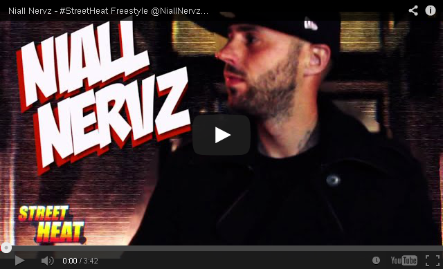 BRITHOPTV: [Freestyle Video] Niall Nervz (@NiallNervz) - #StreetHeat Freestyle | #UKRap #UKHipHop