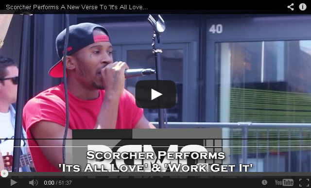 BRITHOPTV: [Live Performance] Scorcher (@ScorchersLife) Performs A New Verse To 'It's All Love' & 'Work Get It' [@BlueReignMG] | #Grime #UKRap