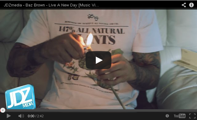 BRITHOPTV: [Music Video] Baz Brown (@GsBazBrown) - 'Live A New Day' | #UKRap #UKHipHop