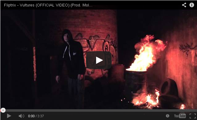 BRITHOPTV: [Music Video] Fliptrix (@MrFliptrix) - 'Vultures' (Prod. Molotov) | #UKRap #UKHipHop