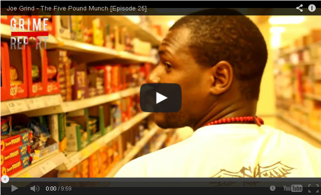 Uploaded To BRITHOPTV: [Web Show] Joe Grind (@JoeGrindSN1) - #TheFivePoundMunch [S1: E:25] [@GrimeReportTV] | #Grime