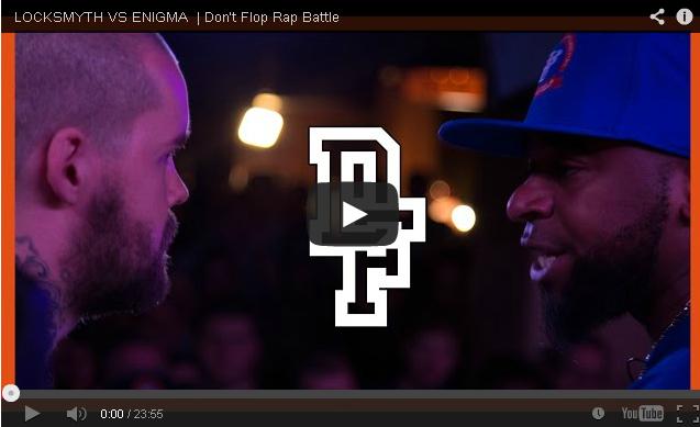 BRITHOPTV- [Battle Video] Locksmyth (@Locksmyth1) Vs Enigma (@EnigmaKelly) [@DontFlop] - #UKHipHop #UKBattleRap
