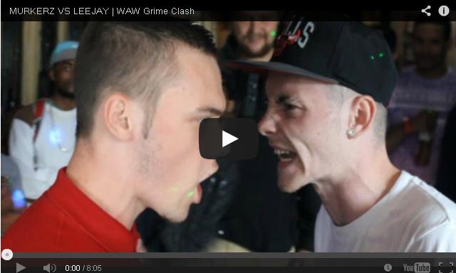 BRITHOPTV- [Battle Video] WAW Grime Clashes- Murkerz (@murkerzyeah) Vs Leejay (@leejayrapartist) [@wawgrimeclashes] - #Grime