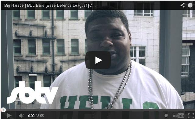 BRITHOPTV: [Freestyle Video] Big Narstie (@BigNarstie) #BDLBars (Base Defence League) [Outlook 2014]: SBTV | #Grime #UKRap