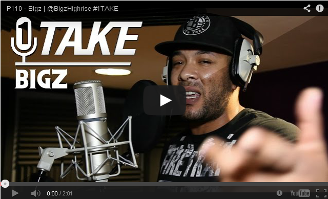 BRITHOPTV- [Freestyle Video] Bigz (@BigzHighrise) – ' #1Take' [@P110Media] - #Grime
