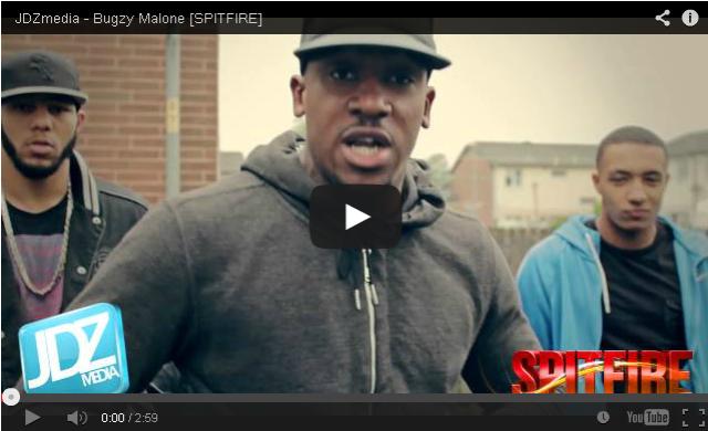 BRITHOPTV- [Freestyle Video] Bugzy Malone (@TheBugzyMalone) – ' #Spitfire' [@JDZMedia] - #Grime #UKRap