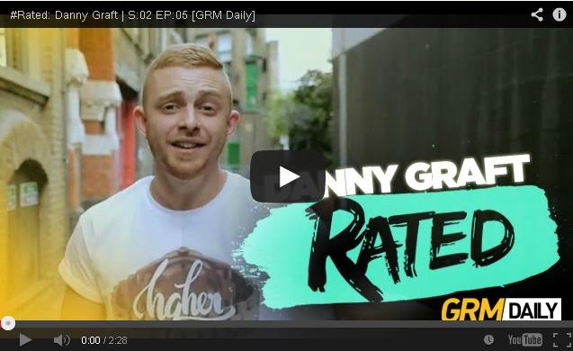 BRITHOPTV- [Freestyle Video] Danny Graft (@DannyGraft) – ' #Rated' S-02 EP-05 [@GRMDaily] - #UKRap #UKHipHop