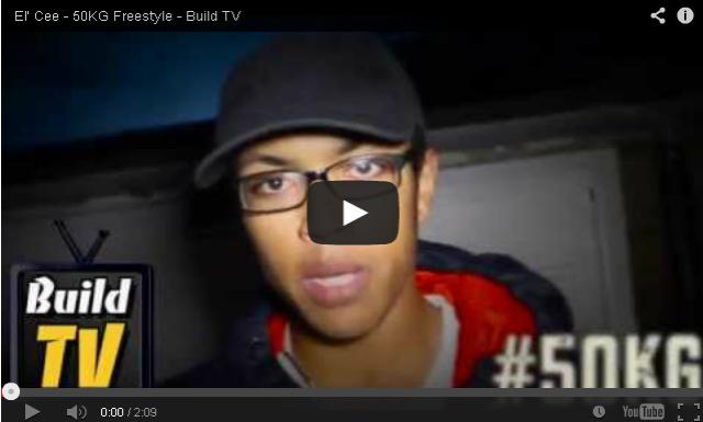 BRITHOPTV: [Freestyle Video] El' Cee - ' #50kg Freestyle' [Build TV - Dir. @itsJaymalD ] | #Grime