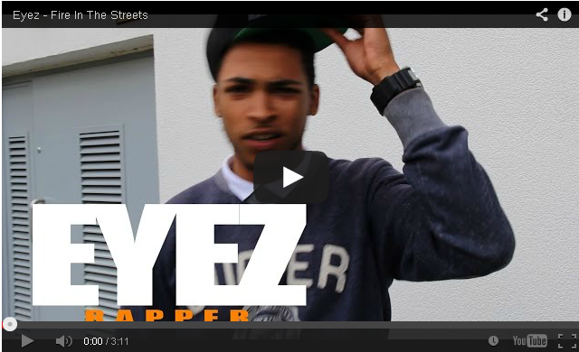 BRITHOPTV- [Freestyle Video] Eyez (@Eyez_UK) – ' #FireInTheStreets' [ @CharlieSloth] - #UKRap #UKHipHop