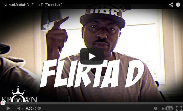 BRITHOPTV- [Freestyle Video] Flirta D (@FlirtaDunDaD) – ' #Freestyle' [@KrownMediaHD] - #Grime