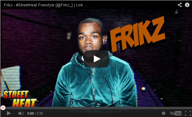 BRITHOPTV- [Freestyle Video] Frikz (@Frikz_) – #StreetHeat Freestyle - #UkRap #UKHipHop