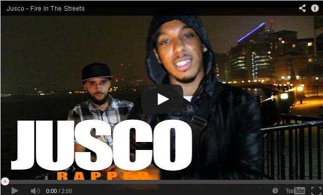 BRITHOPTV- [Freestyle Video] Jusco (@juscoakamulat) – ' #FireInTheStreets' [ @CharlieSloth] - #UKRap #UKHipHop