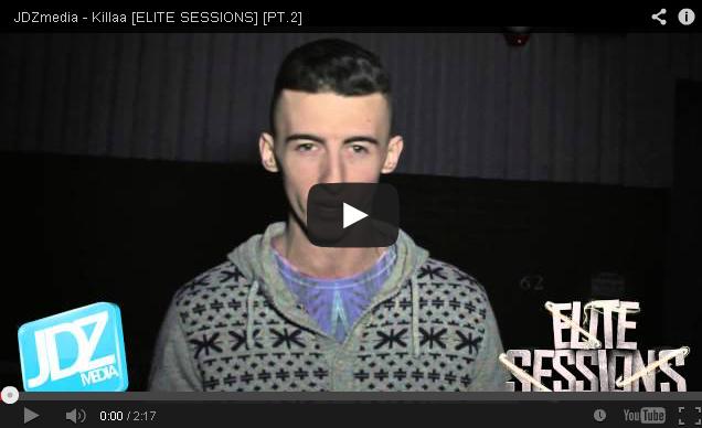 BRITHOPTV- [Freestyle Video] Killaa (@KillaaFreeAgent) – ' #EliteSessions' Part 2 [@JDZMedia] - #UKRap #Grime