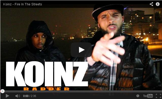 BRITHOPTV- [Freestyle Video] Koinz (@koinztheartist) – ' #FireInTheBooth' #Freestyle [@CharlieSloth] - #UKRap #UKHipHop.