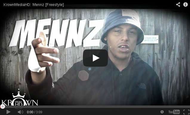 BRITHOPTV- [Freestyle Video] Mennz (@MennzMc) – ' #Freestyle' [@KrownMediaHD] - #Grime