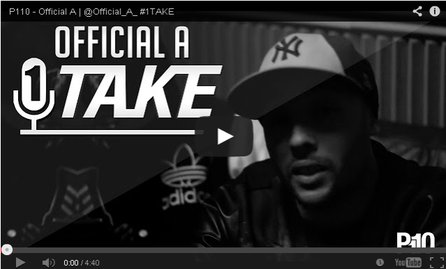 BRITHOPTV- [Freestyle Video] Official A (@Official_A_ ) – #1TAKE #Freestyle [@P110Media] - #UKRap #UKHipHop