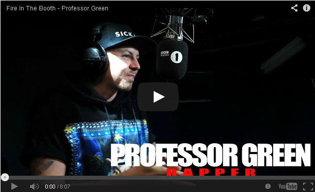 BRITHOPTV- [Freestyle Video] Professor Green (@ProfessorGreen) – ' #FireInTheBooth' [ @CharlieSloth] - #UKRap #UKHipHop