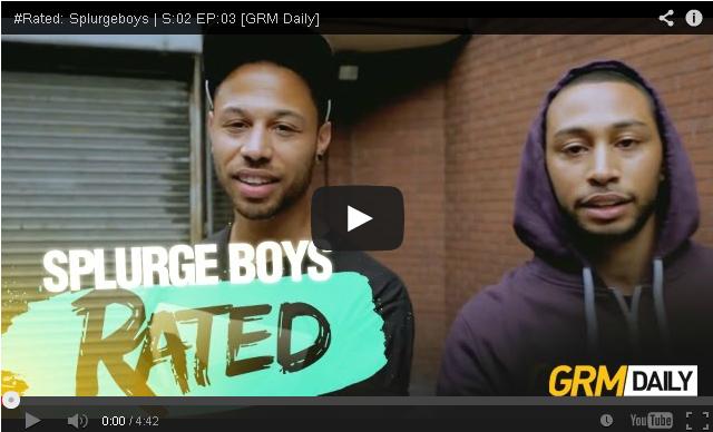 BRITHOPTV: [Freestyle Video] Splurgeboys (@splurgeboys) - ' #Rated' S:02 EP:03 [@GRMDaily] | #UKRap #UKHipHop