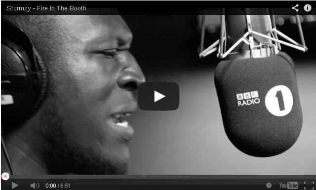 BRITHOPTV- [Freestyle Video] Stormzy (@Stormzy1) – ' #FireInTheBooth' [ @CharlieSloth] - #UKRap #UKHipHop.