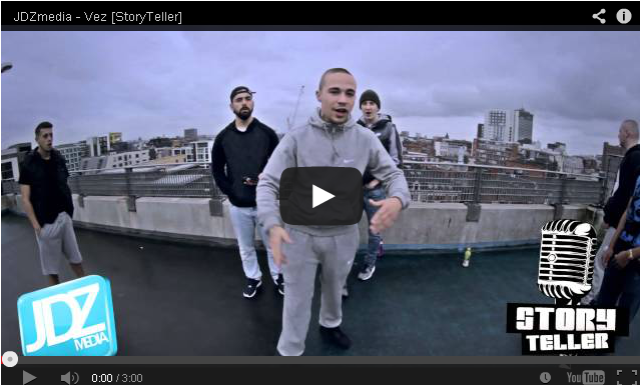 BRITHOPTV- [Freestyle Video] Vez (@123_vez) – ' #StoryTeller' #Freestyle - #UKRa