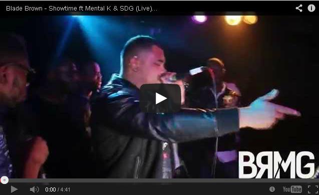 BRITHOPTV: [Live Performance] Blade Brown (@Blademusic) - 'Showtime ft Mental K (@MentalKOJ) & SDG (@SKWILLASDG) LIVE At #TheRenaissanceShow   #UKRap #UKHipHop