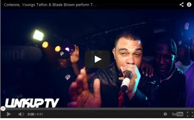 BRITHOPTV: [Live Performance] Corleone (@corleonegb) Youngs Teflon (@YoungsTeflon) & Blade Brown (@BladeMusic)' perform Trap God LIVE At #TheRenaissanceShow | #UKRap #UKHipHop