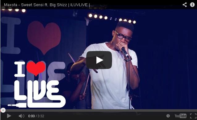 BRITHOPTV- [Live Performance] Maxsta (@ItsMaxsta) – 'Sweet Sensi ft. Big Shizz (@RascalOfficial)' - @ILUVLIVE - @LordoftheMics Special - #Grime #UKRap