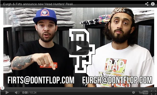 BRITHOPTV- [Music News] Don't Flop Firts & Eurgh announce the details of their new 'Head Hunters' Reality Show - #MusicNews #UKRap