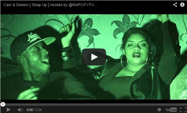 BRITHOPTV- [Music Video] Cani (@iamcani) & Denero (@deneroofficial) – 'Strap Up' [@RAPCITYTV] - #UKRap #UKHipHop