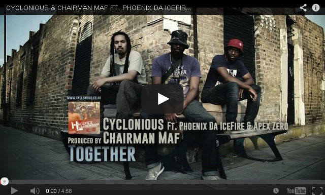 BRITHOPTV- [Music Video] @Cyclonious & @ChairmanMaf – 'Together Ft @phoenixdafire @ApexZero00′ [Dir. @GlobalFaction] - #UKHipHop #UKRap