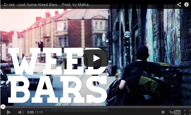 BRITHOPTV- [Music Video] D-Red (@DeedashRED) – 'Just Some Weed Bars' - #UKHipHop #UKRap