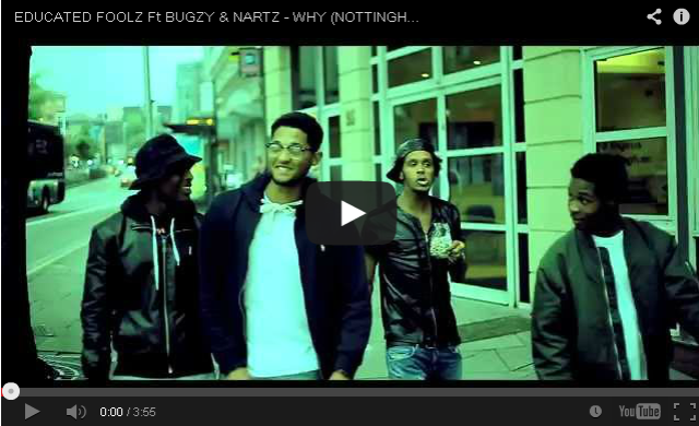 BRITHOPTV: [Music Video] Educated Foolz (@EducatedFoolz: @littlesonline @thisis2tone @jahdigga) - 'Why Ft. Bugzy & Nartz' #Nottingham [@TVTOXIC] | #UKHipHop #UKRap