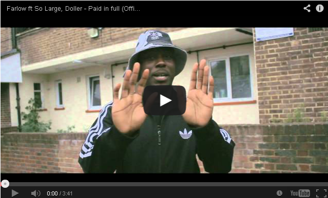 BRITHOPTV- [Music Video] Farlow (@farlowbabyboy) – 'Paid in full ft So Large, Doller' - #UKRap #UKHipHop