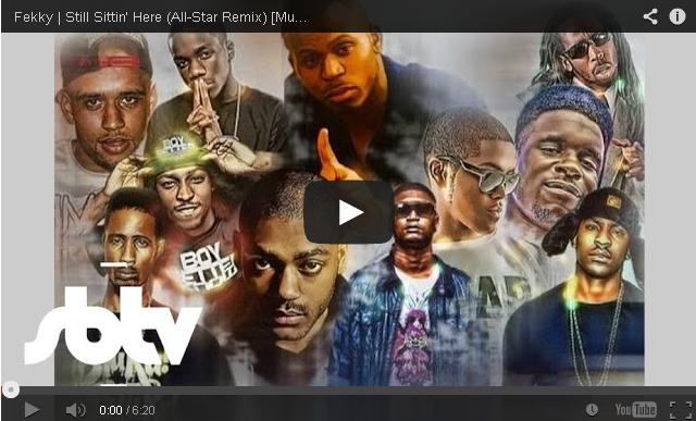 BRITHOPTV: [Music Video] Fekky (@FekkyOfficial) - 'Still Sittin' Here AllStar Remix' | #UKRap #Grime
