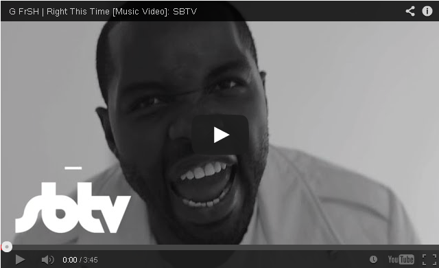 BRITHOPTV- [Music Video] G FrSH (@GFrSH ) – 'Right This Time - #UKHipHop #UKRap