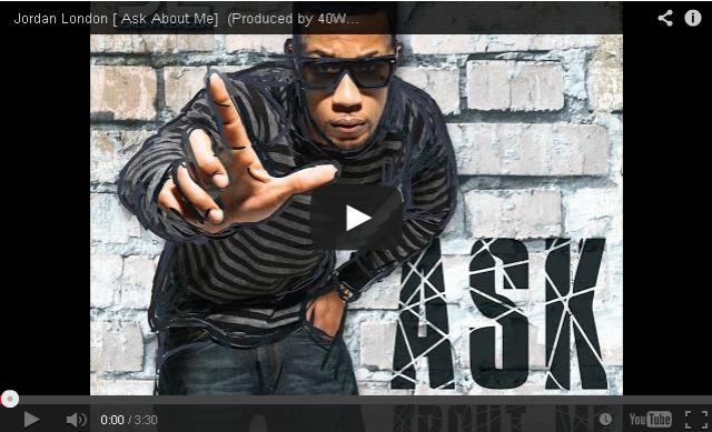 BRITHOPTV: [Music Video] Jordan London (@JLJORDANLONDON ) - 'Ask About Me' (Produced by 40WINKZ) [@RAPCITYTV]   #UK Rap #UKHipHop