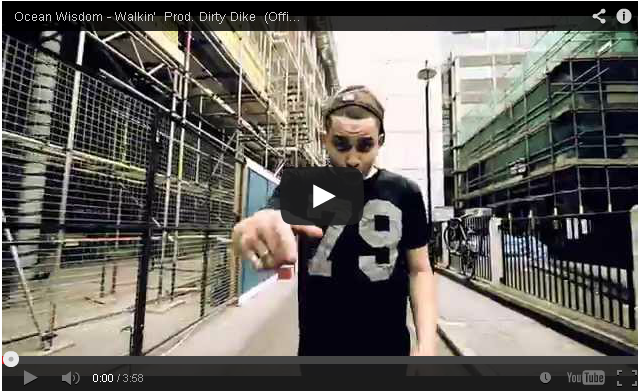 BRITHOPTV- [Music Video] Ocean Wisdom (@SpitzWisdom) – 'Walkin' [Prod. Dirty Dike (@DirtyDikeSMB)] - #UKHipHop #UKRap