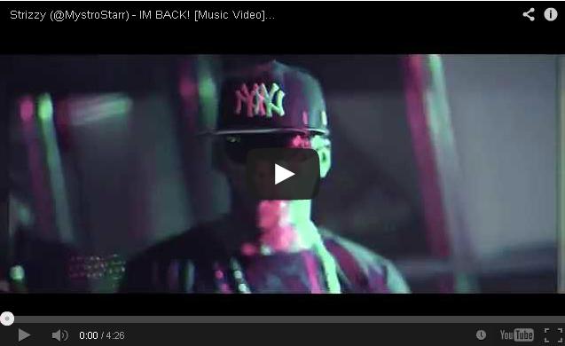 BRITHOPTV: [Music Video] Strizzy (@MystroStarr) - 'I'm Back!'   #UKHipHop #UKRap