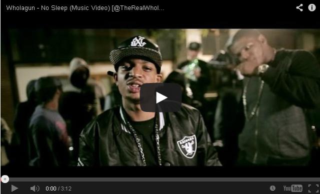 BRITHOPTV- [Music Video] Wholagun (@TheRealWholagun) – 'No Sleep' - #UKHipHop #UKRap