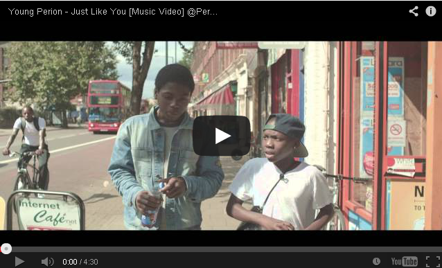 BRITHOPTV- [Music Video] Young Perion (@Perionz) – ' Just Like You' - #UKHipHop #UKRa