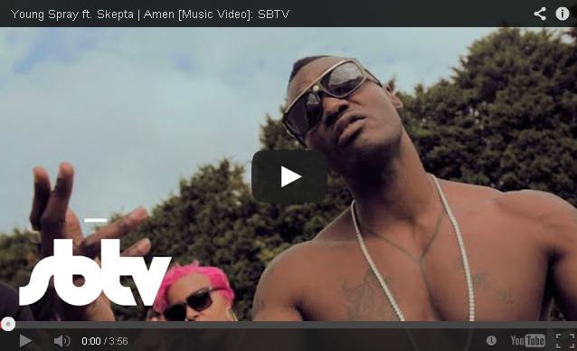BRITHOPTV- [Music Video] Young Spray (@Young_Spray) – 'Amen Ft. Skepta (@Skepta)' - #UKHipHop #UKRap