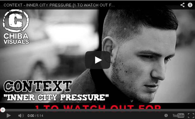 BRITHOPTV- [New Music] Context (@Context_) – 'Inner City Pressure' - #UKRap #UKHipHop
