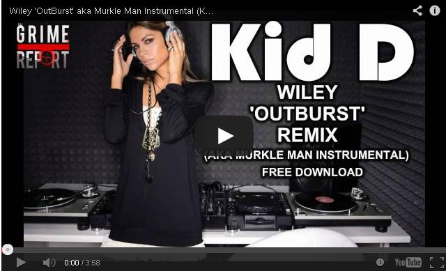 BRITHOPTV: [New Music] Kid D (@TheKidDsOUNDZ) - 'Wiley (@Wiley) - Outburst' Instrumental 2014 Remix' | #Grime