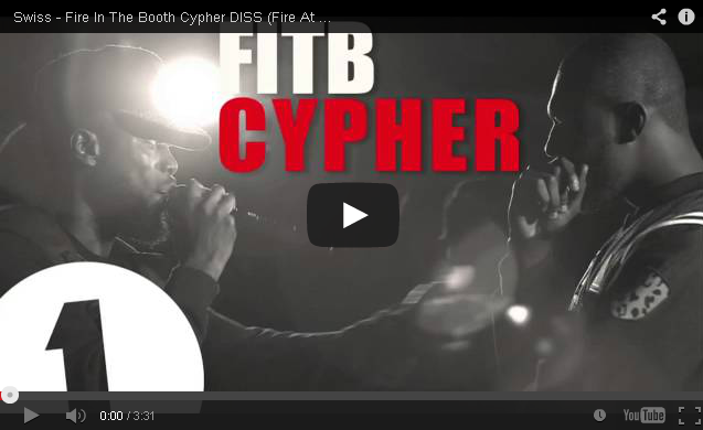 BRITHOPTV- [New Music] Swiss (@swissworld) – Fire In The Booth Cypher DISS (Fire At The Video Shoot) #FATVS - #UKRap #UKHipHop
