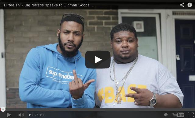 BRITHOPTV- [Video Interview] Big Narstie (@BigNarstie) talks about his BDL Movement & his views on Grime with Bigman Scope [Part 1 of 2] DirteeTV - #Grime #UKUrban
